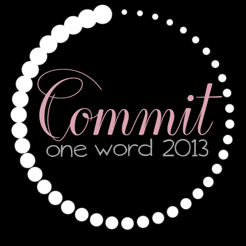 OneWord2013_commit