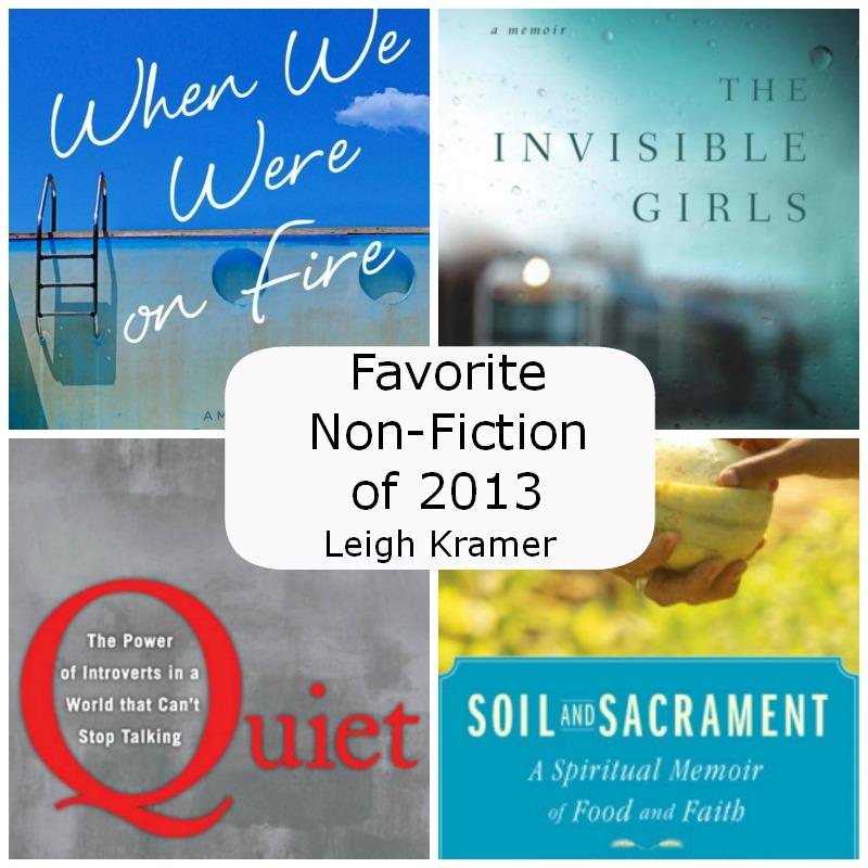 Favorite Non-Fiction of 2013 via Leigh Kramer