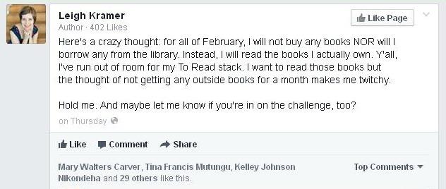 No Book Buying