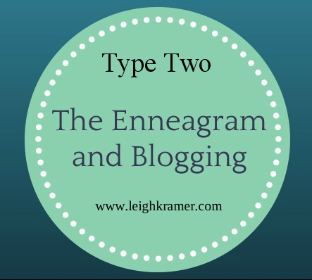 The Enneagram and Blogging via Leigh Kramer
