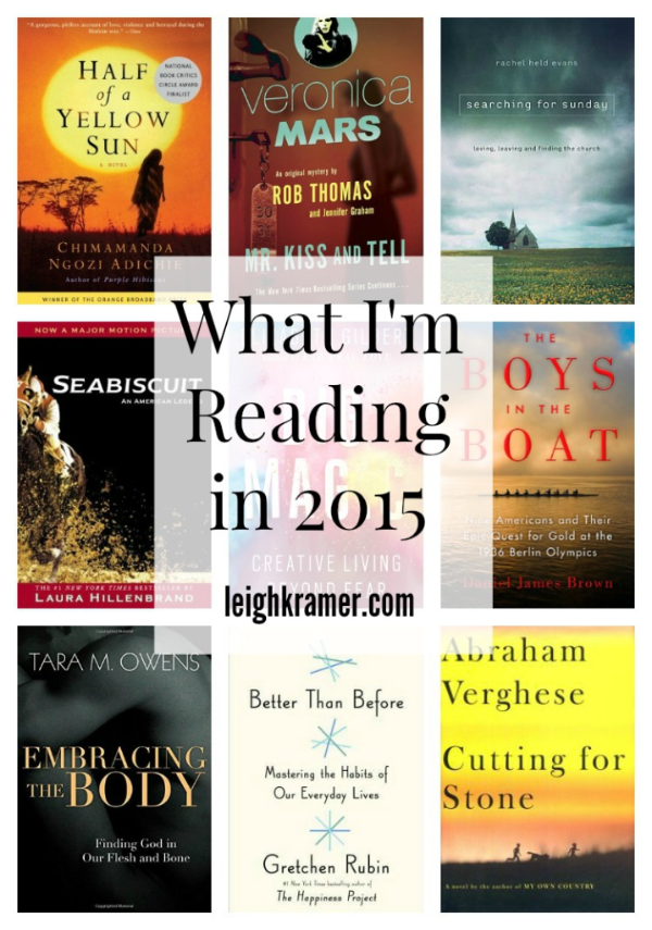 What I'm Reading in 2015