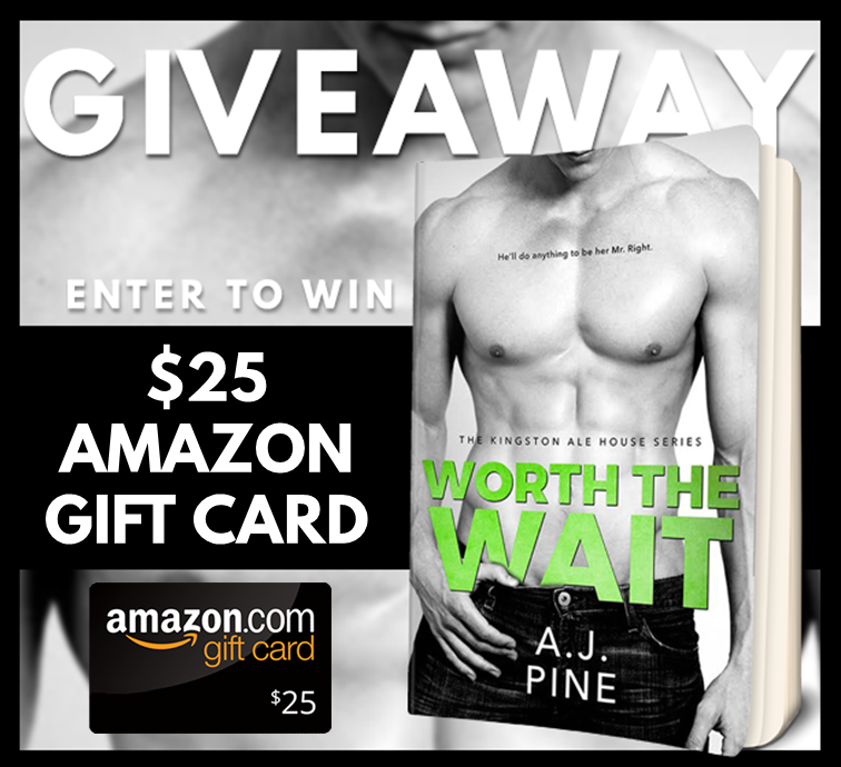 Worth the Wait Giveaway Graphic