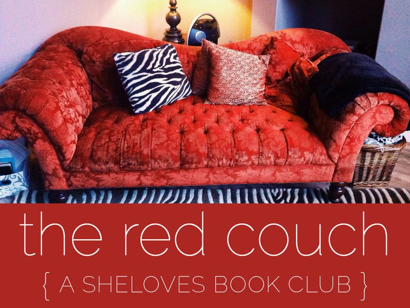 The Red Couch the SheLoves Book Club
