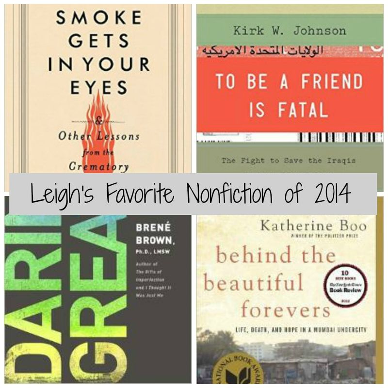 Leigh Kramer's Favorite Nonfiction of 2014