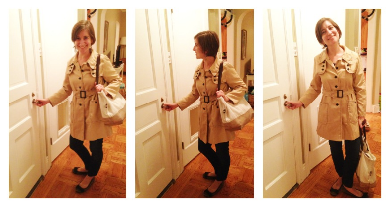 Trenchcoat Collage