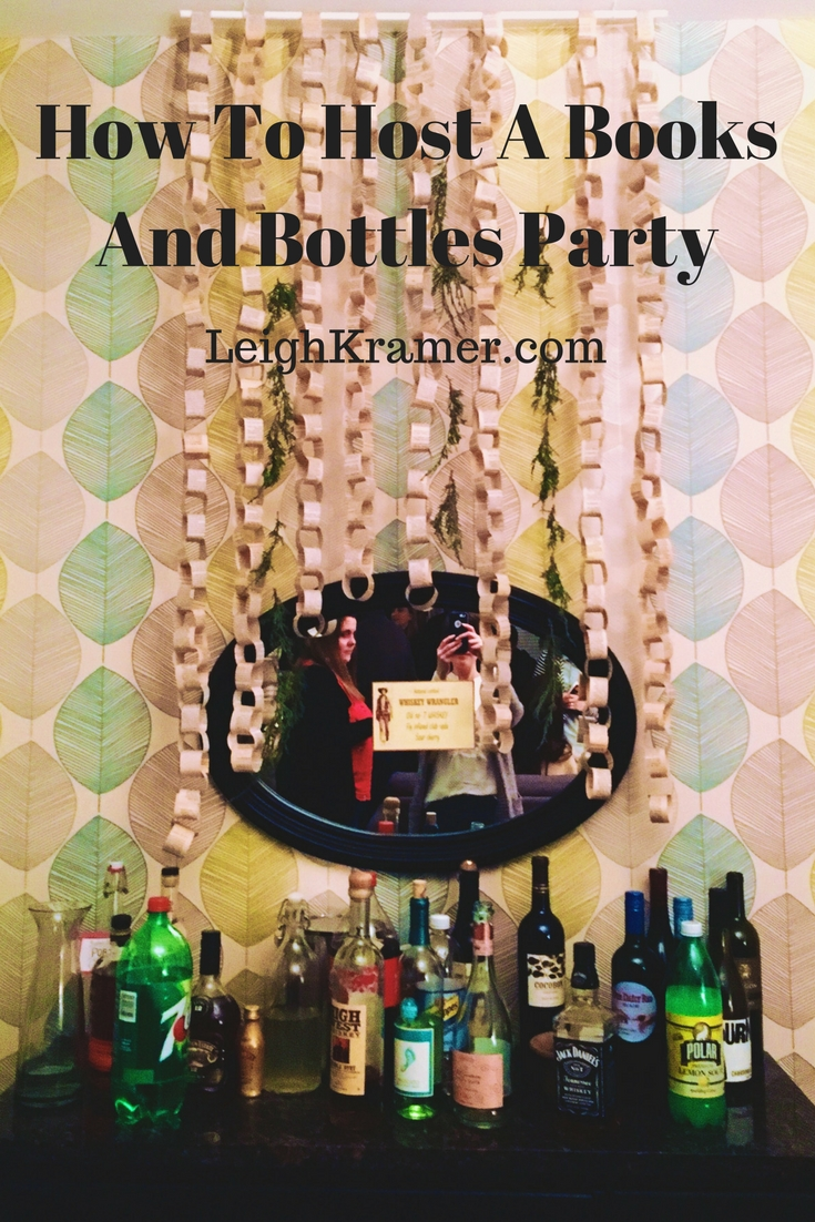 How To Host A Books And Bottles Party