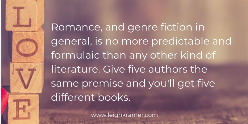 Romance  and genre fiction